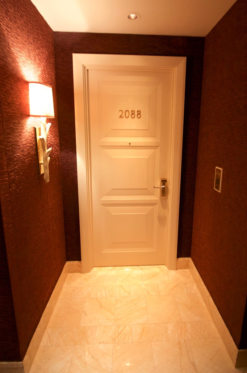 Encore Macau Grand Salon Suite Review 2016 Hallway Room 2088