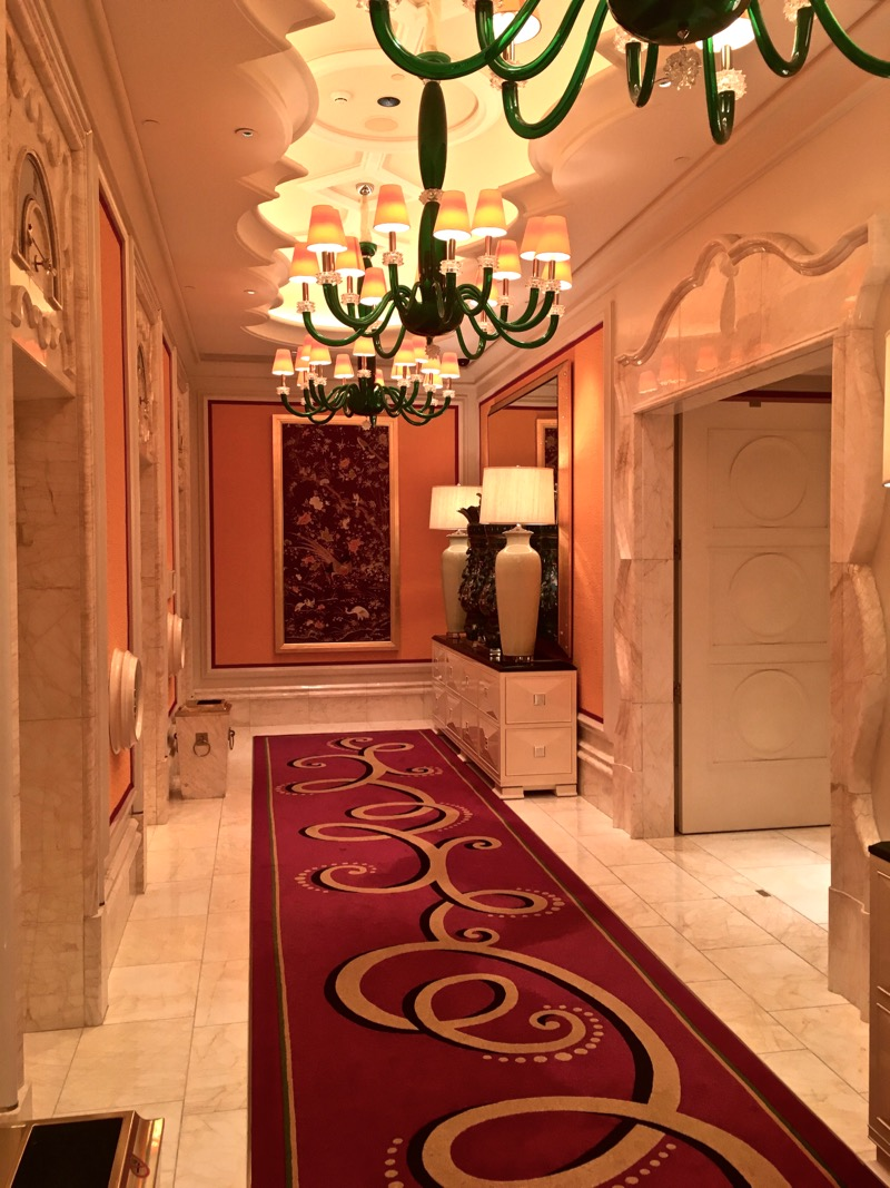 Encore Macau Grand Salon Suite Review 2016 Lobby Elevator Landing