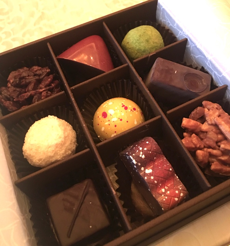 Encore Macau Grand Salon Suite Review 2016 Welcome Chocolates