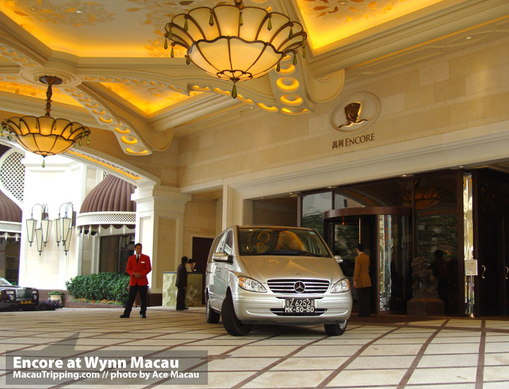 Encore at Wynn Macau Room Review Photos  Porte