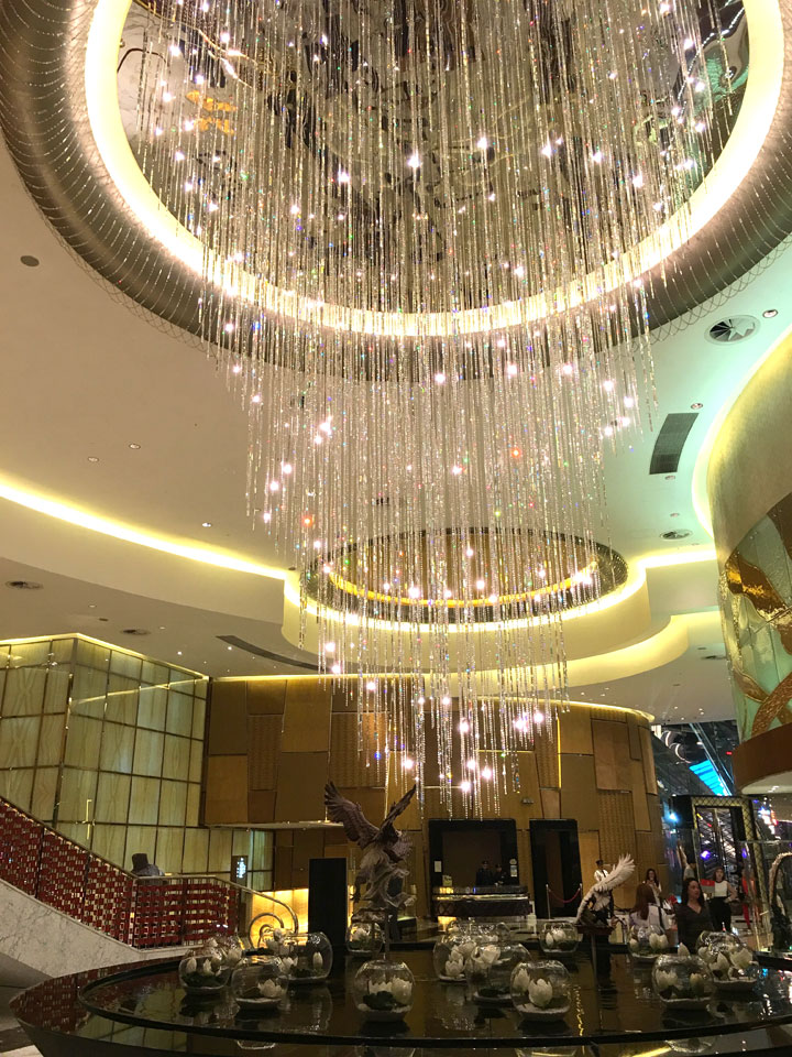 Grand Lisboa Review 2016 Chandelier