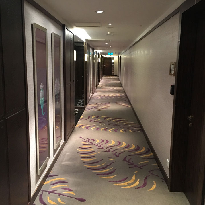 Grand Lisboa Review 2016 Hallway