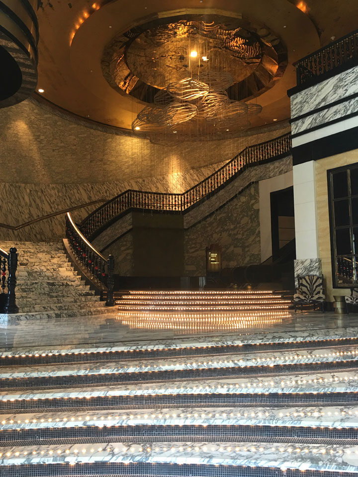 Sofitel Ponte16 Review 2016 Grand Staircase