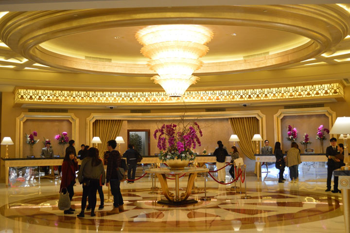 Studio City Macau  Checkin