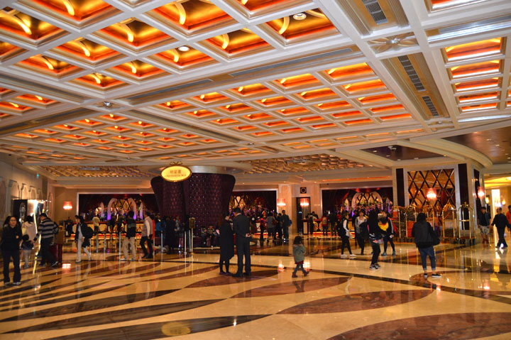 Studio City Macau  Lobby2