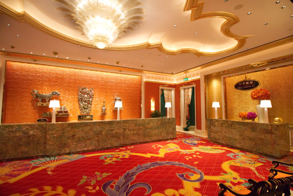 Wynn Palace Cotai King Lake View Suite Review 2017 Registration Desk