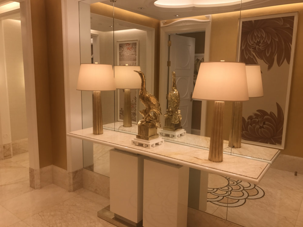 Wynn Palace Parlor Suite Review 2017 Entry 2