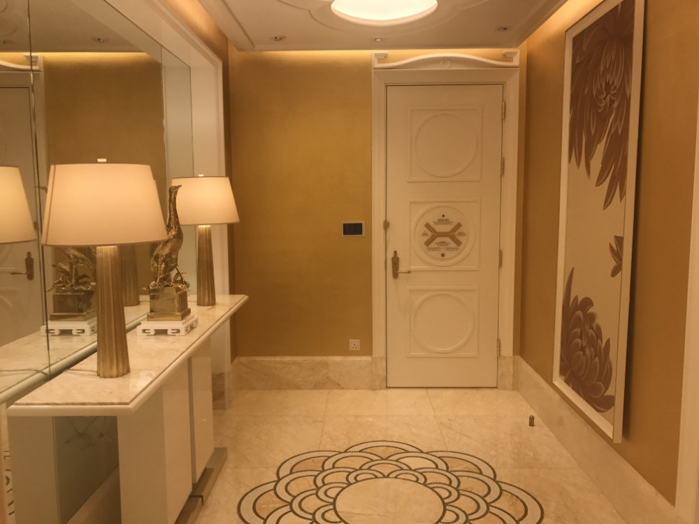 Wynn Palace Parlor Suite Review 2017 Entry 5