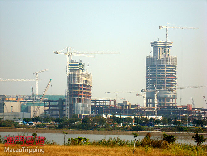 City of Dreams Cotai 2008 February Construction Photos