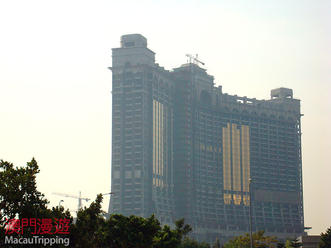 Galaxy MegaResort Cotai 2008 February Construction Photos