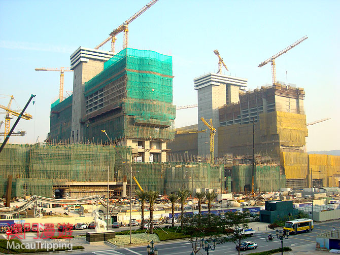 Sheraton Cotai 2008 February Construction Photos