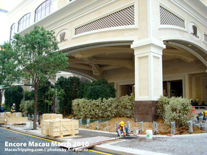 Encore Macau Porte Cochere Detail