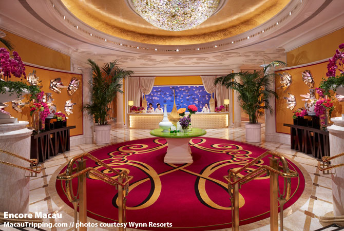Encore at Wynn Macau Lobby