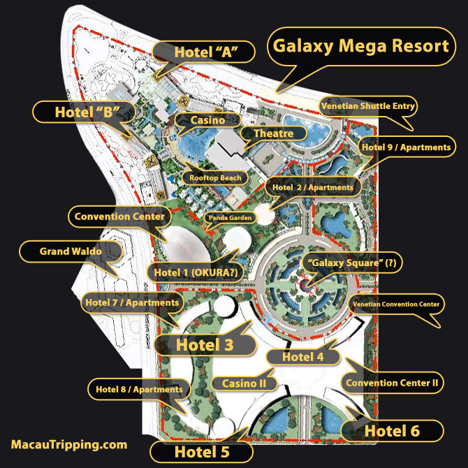 Galaxy Cotai Mega Resort Renderings December 2007