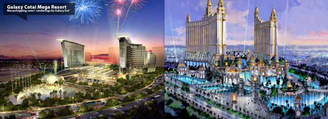 Galaxy Cotai MegaResort Renderings