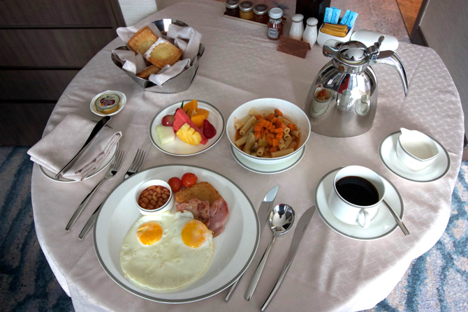 Macanese Breakfast Room Service
