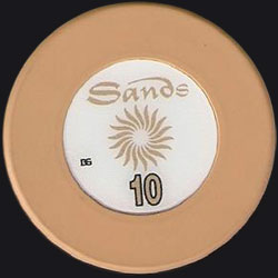 Macau Casino Chips Sands 10