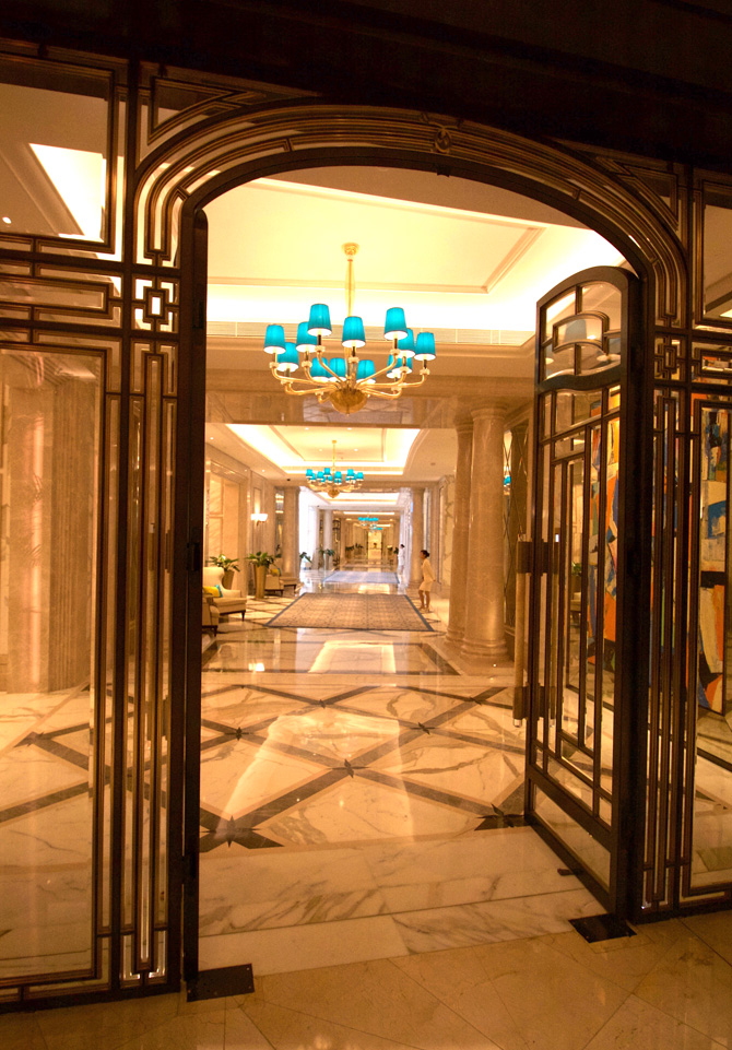 Ritz Carlton Entry