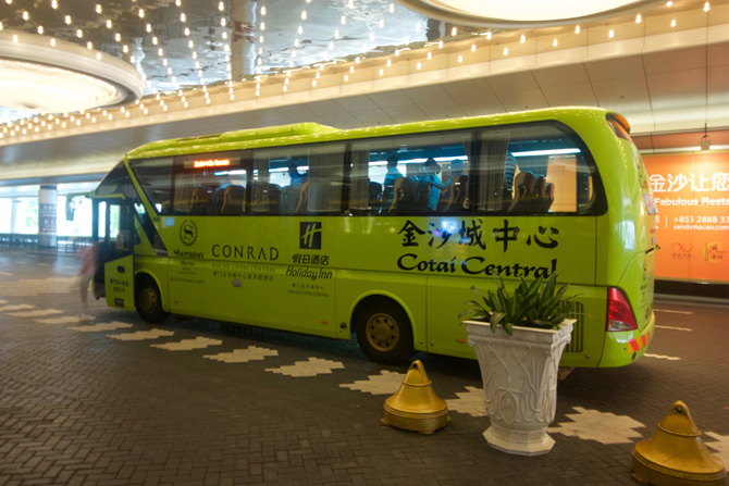 Sands Cotai Central Shuttle Bus