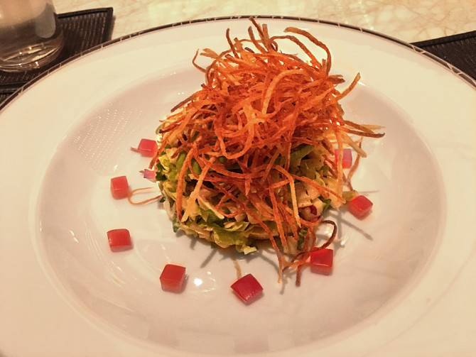 Steve's Chopped Salad at SW Steakhouse Wynn Palace Macau