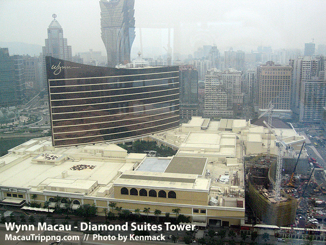 Wynn Diamond Suites Hotel Tower Location